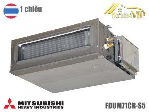 Điều hòa nối ống gió Mitsubishi Heavy FDUM71CR-S5