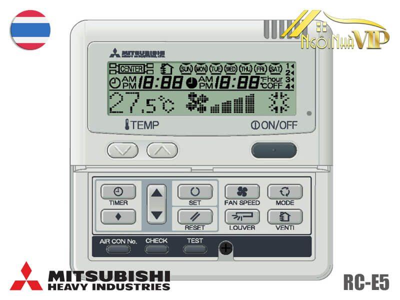 Điều khiển Mitsubishi Heavy RC-E5