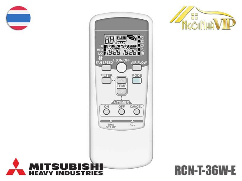 Điều khiển Mitsubishi Heavy RCN-T-36W-E